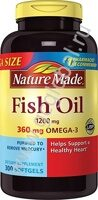 Nature Made Fish Oil Омега 3 150 капс